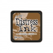 Штемпельная подушка Distress mini Vintage photo, 2,5*2,5 см