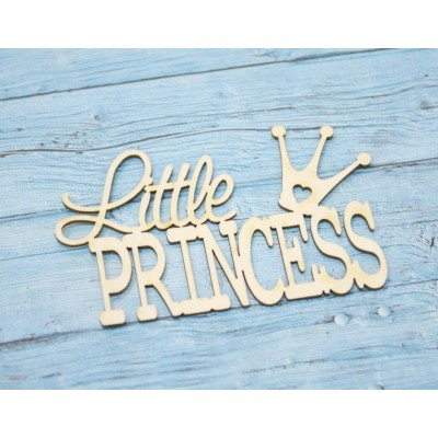 Чипборд Little Princess, 6,5*4 см